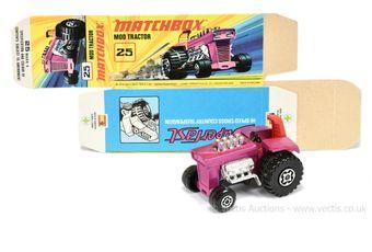 Matchbox Superfast 25b Mod Tractor