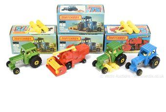 Matchbox Superfast group of Farm Vehicles