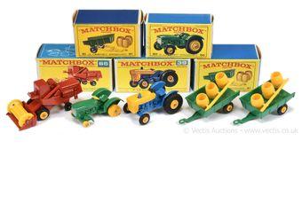 Matchbox Regular Wheels group of Farm vehicles