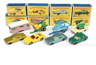 Matchbox Regular Wheels group of Cars & Trailers