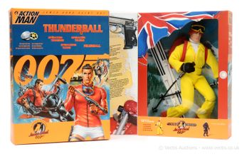 """Hasbro Action Man """"James Bond"""" a pair of Limited Editions"""
