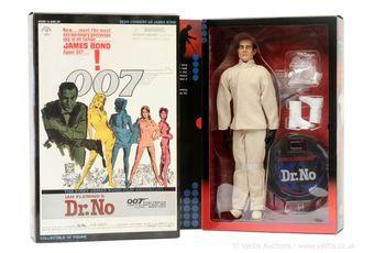 """Sideshow """"James Bond"""" a pair (1) """"Dr No"""" and (2)"""