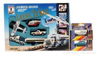 """Matchbox """"James Bond"""" Gift Set taken from the film"""