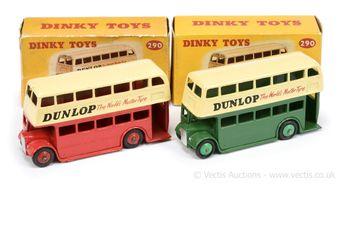 "Dinky 290 Double Decker Bus (Type 3) - ""Dunlop"""