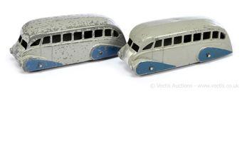 Dinky 29b Streamlined Coach - grey, blue
