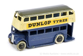 Dinky Pre-war 29c/290 Double Decker Bus (Type 1) -