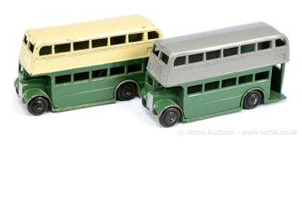 Dinky 29c/290 (Type 1) Double Decker Bus - two-tone cream