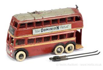 """Taylor & Barrett Trolleybus """"Use Dominion Petrol"""""""
