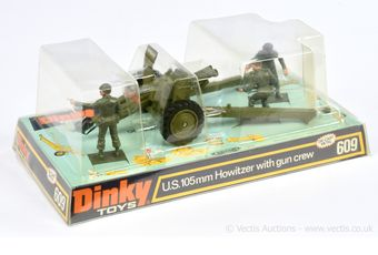 Dinky 609 US Army 105mm Howitzer