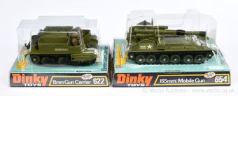 Dinky pair of Military vehicles both ex-shop stock taken from