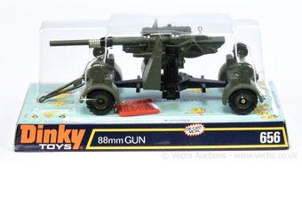 Dinky 656 Wehrmacht German Army 88mm Gun