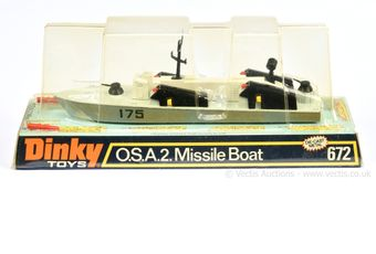 Dinky 672 OSA2 Missile Boat