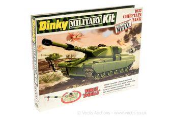 Dinky 1037 British Army Chieftain Tank metal kit