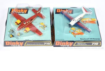 Dinky pair of Aircraft both ex-shop stock taken from factory