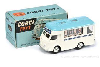 Corgi Toys 413 Karrier Bantam Mobile Butchers Shop