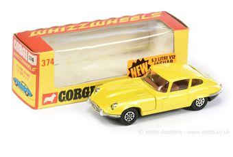 Corgi Whizzwheels 374 Jaguar E-type 5.3 litre V12