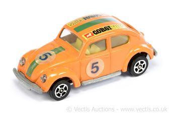 Corgi Juniors 1010 Volkswagen Beetle Rally Car taken from the