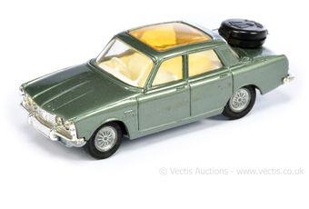 Corgi 275 Rover 2000 TC - metallic onyx green body