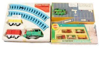 Meccano, Hornby and Corgi unusual Train Sets - to include