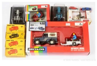 Britains and other boxed vehicles