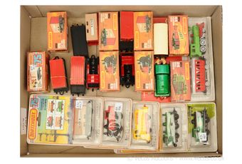 Matchbox 75 Series boxes Railway models