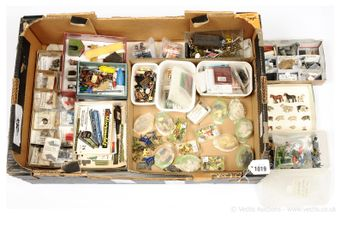 Assorted Model Railway and other Figures and Accessories