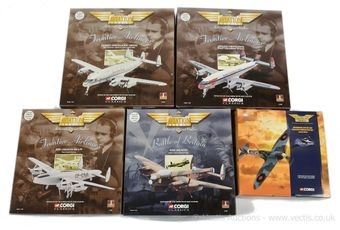 Corgi Aviation Archive a group of boxed models