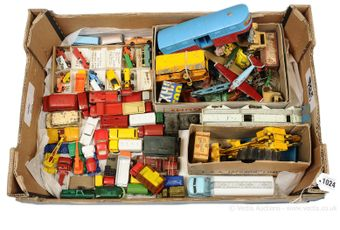 Dinky, Corgi, Matchbox and other diecast and spare parts