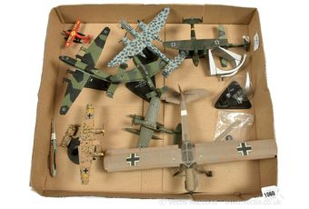 Corgi Aviation Archive and other diecast and plastic Aircraft