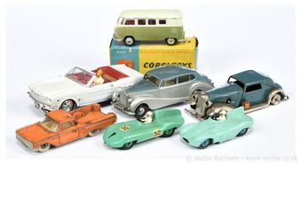 Corgi Toys, Dinky, Spot-on, Triang Minic and other models