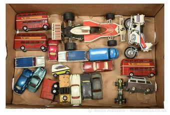 Corgi Toys assorted unboxed vehicles