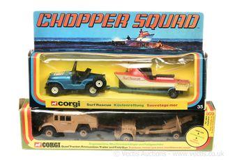 Corgi Toys a pair of Presentation Sets
