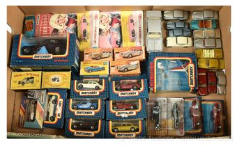 Matchbox group of boxed and unboxed models