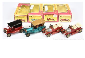 Matchbox Models of Yesteryear group of harder to find issues