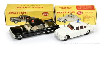 Dinky Toys a pair of Police Cars