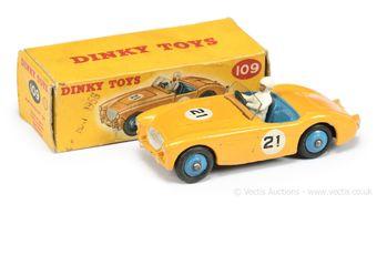 Dinky Toys 109 Austin Healey 100 Sports Car