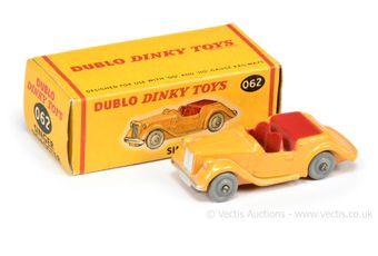 Dublo Dinky Toys 062 Singer Roadster