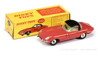 Dinky Toys 120 Jaguar E-type
