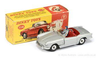 Dinky Toys 114 Triumph Spitfire - silver