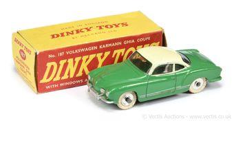 Dinky Toys 187 Volkswagen Karmann Ghia Coupe