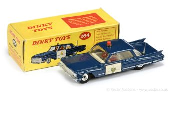 Dinky Toys 264 Royal Canadian Mounted Police Patrol Car