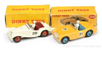 Dinky Toys a pair of boxed Competition Cars