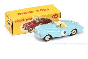 Dinky Toys 107 Sunbeam Alpine Sports Car