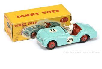 Dinky Toys 111 Triumph TR2 Sports Car