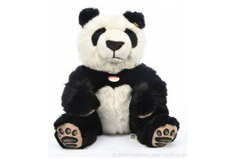 Steiff Manschli panda bear, yellow tag 064821 (2005-2008)