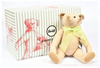 Steiff Club Edition 2019 teddy bear, white tag 421549