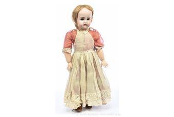 Bahr & Proschild bisque doll, German, circa 1892