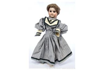 SFBJ French bisque vintage doll, 1920s