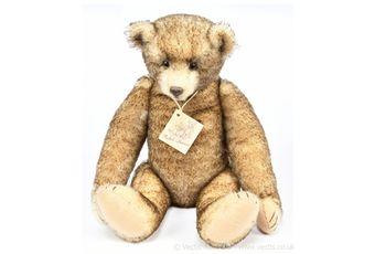 Michel-Baren artist designed teddy bear by Michael Jordan