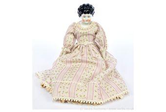 German china head doll, c1880